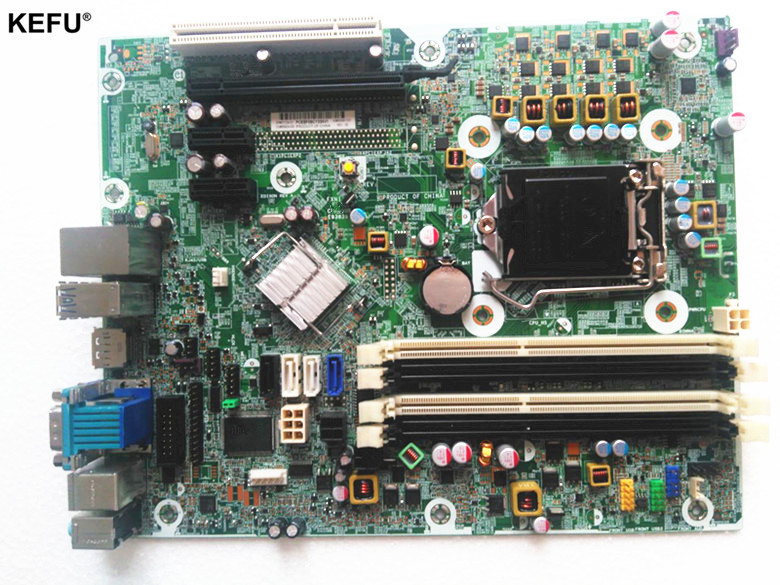 цена 657239-001 fit for HP 6300 6380 Pro series desktop motherboard mainboard Q75 LAG 1155 DDR3 100% tested OK
