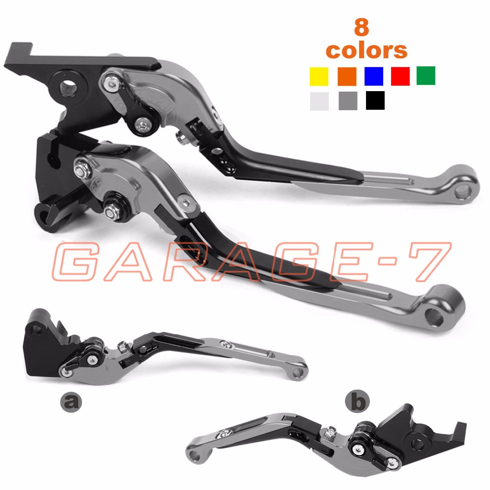 For Suzuki TL1000R HAYABUSA GSXR1300 BANDIT 1250 S DL1000 V-STROM GSX650F Motorcycle CNC Foldable Extending Brake Clutch Levers 10 colors for suzuki dl1000 v strom gsf650 bandit gsx650f 650s cnc long and short brake clutch levers motorcycle shortly lever