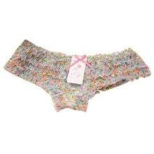 Cute Girl Dot Panties Calcinha 2017 New Female Underwear Women Lace Ruffles Women's Sheer Panties Butt Lifter Briefs 12 Colors