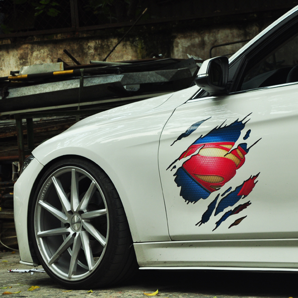 f946b191baf Buy superman car window and get free shipping on AliExpress.com