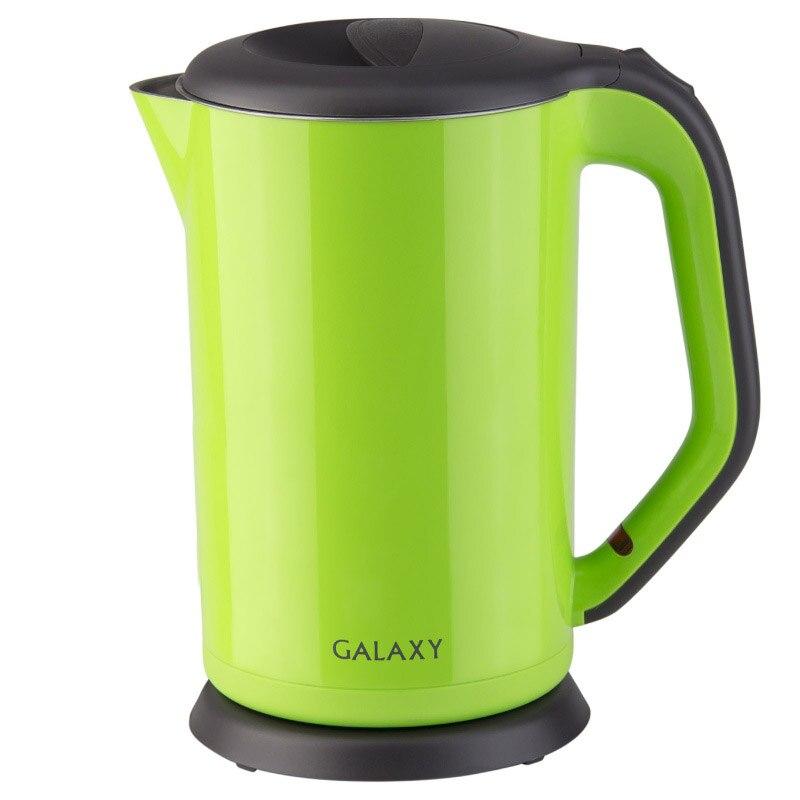 Electric kettle Galaxy GL 0318 GREEN galaxy gl 0318 красный