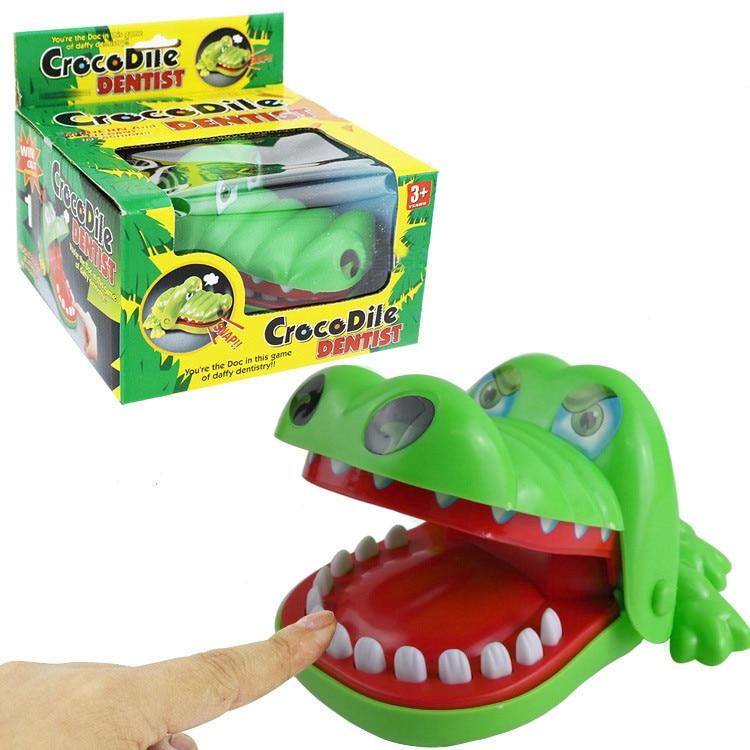 Vereinigt Baby Kinderwagen Accesiries Lustige Krokodil Große Mund Beißen Finger Zahnarzt Spiel Streich Spielzeug Spirituelle Komfort Schlaf Unternehmen Spielzeug