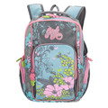 Children School Bags cartoon butterflies flowers printing shoulder bag waterproof nylon Backpack girl Schoolbag Mochila Infantil
