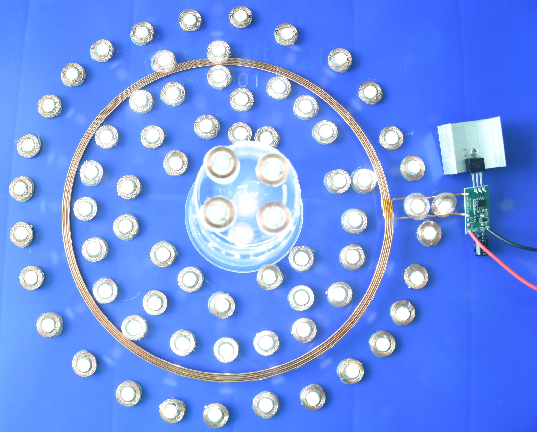 Distance de 110mm de toute la puissance d'étoile de ciel pour plus de 1 module de transmission de puissance de charge sans fil de réception micro mod