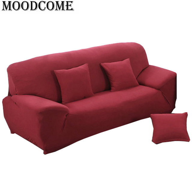 hot sale italy slipcover for sofa 2017 new arrival elastic stretch sofa cover solid colours. Black Bedroom Furniture Sets. Home Design Ideas