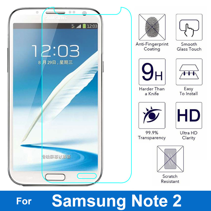Nicotd 9H Clear Tempered Screen Protector Glass Film For Samsung Galaxy Models 7