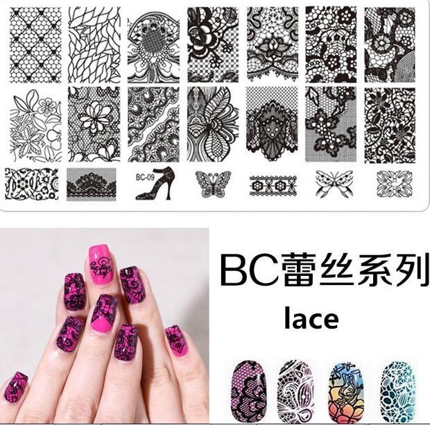 1PCS Nail Stamp Stamping Plate Nail Art Accessories Print Nail Art ...
