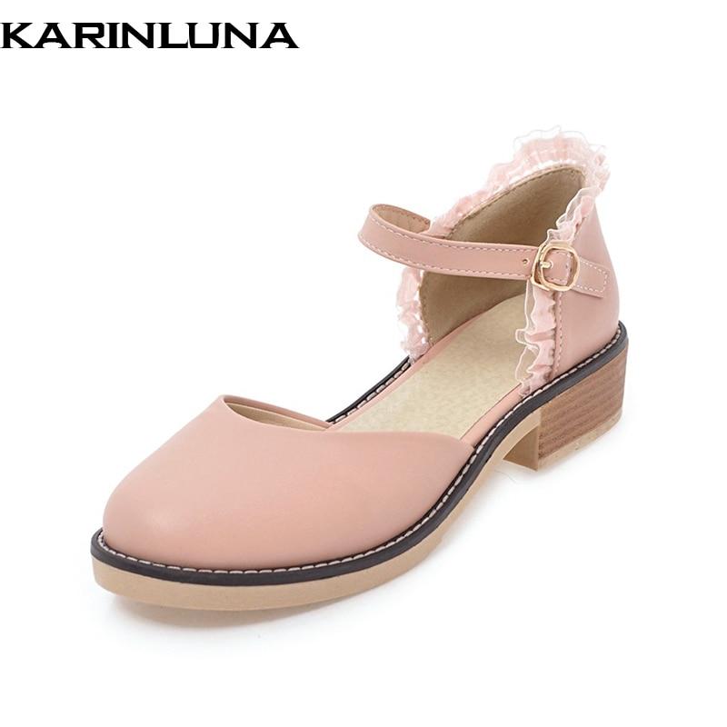 KarinLuna nagy méret 33-44 édes csipke boka pánt nyári szandál - Női cipő