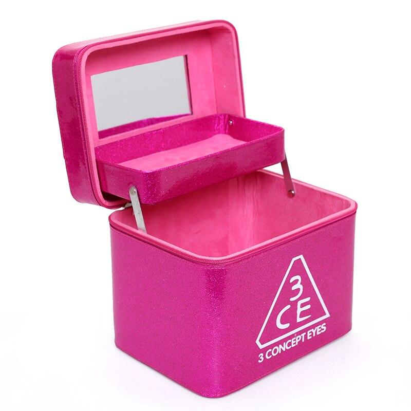 Nouveau sac de maquillage professionnel femmes cosmétique étui en cuir de haute qualité femme coréenne boîte de maquillage grande capacité voyage sacs de lavage