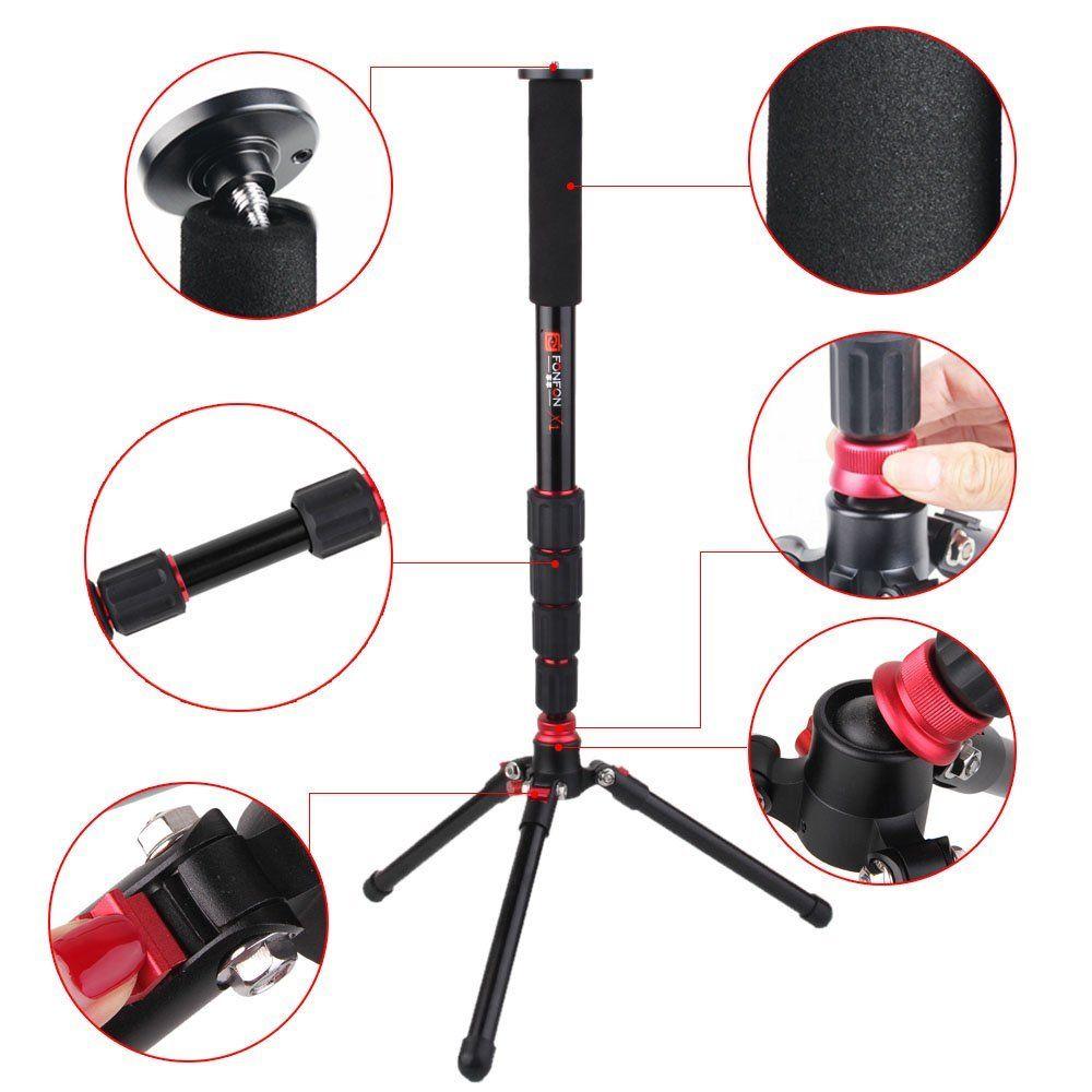 F330 support de Base monopode universel 3 pieds support Unipod pour appareil photo reflex numérique