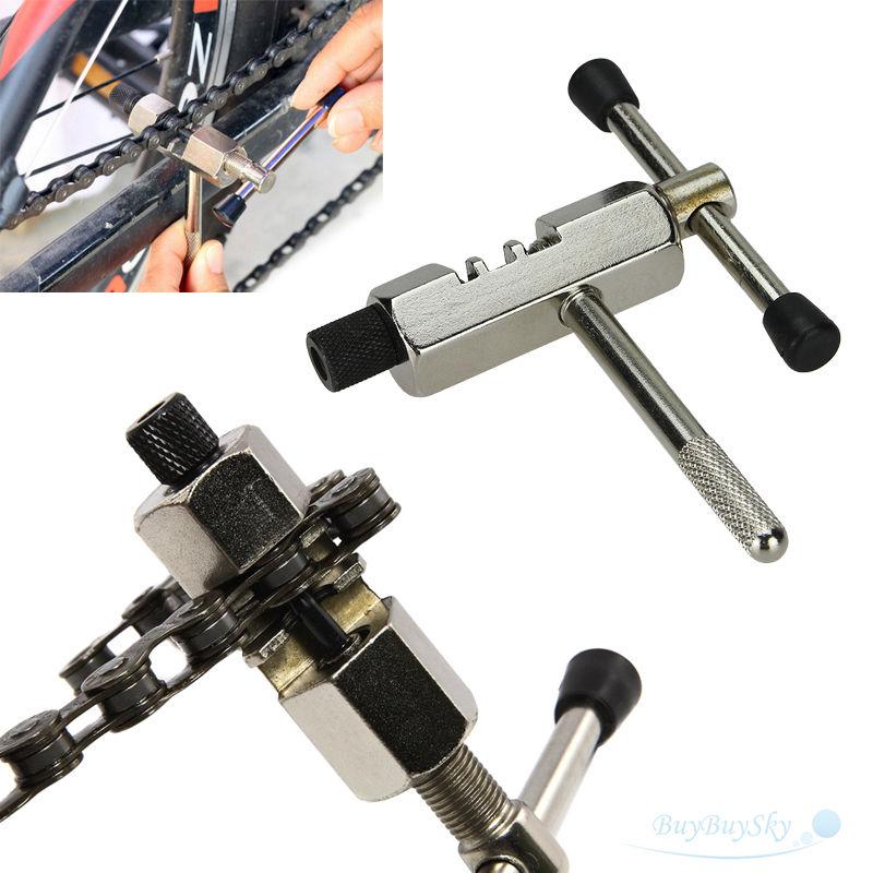 Нержавеющая сталь для езды на велосипеде цепь выключатель для удаления контактный сплиттер устройство для извлечения заклепок резак инструмент для ремонта