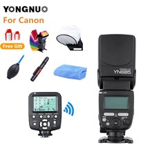 YONGNUO YN685C E-TTL Вспышка Speedlite 1/8000 s радиоприемник для вспышки режим вспышки+ YN560-TX триггер для камеры Canon 7D 70D 60D 700D DSLR