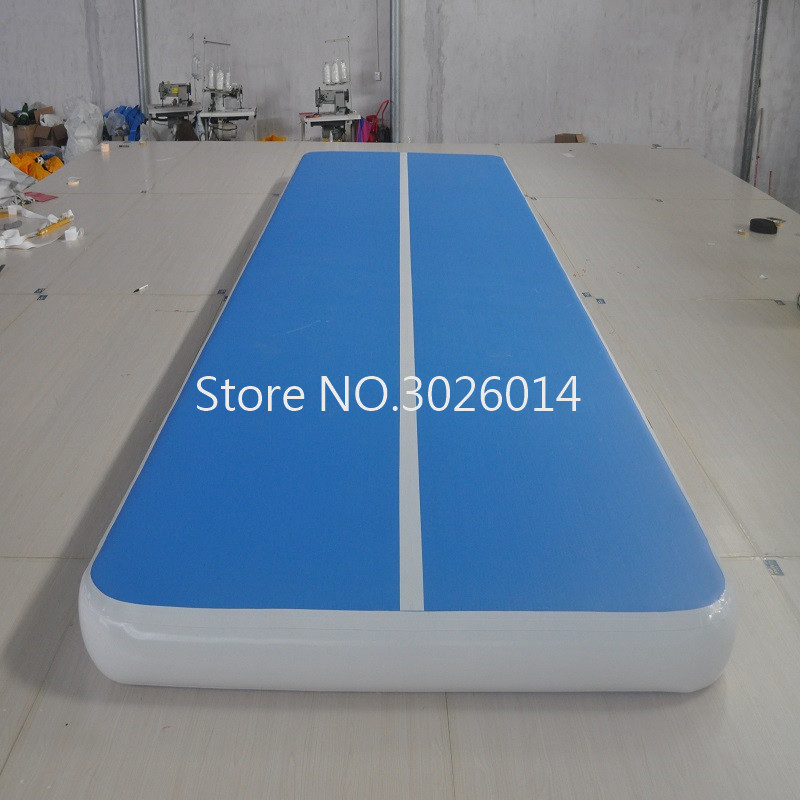 Free Shipping 4*1m Inflatable Air Track for Home Use Inflatable Gymnastics Air Track Tumbling Air Track Trampoline Air Track Mat hot sale inflatable gym air track gymnastics equipment tumbling mats with free pump and free shipping 10m x 1 5m x 0 1m