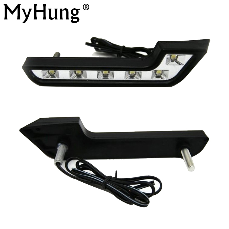 For  MERCEDES BENZ Smart Fortwo LED Day  Lighting DAY DRIVING LAMP Daytime Running Lights Fog Lamps DRL Hot Sale auto fuel filter 163 477 0201 163 477 0701 for mercedes benz