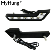 цена на retail MERCEDES BENZ Smart Fortwo LED daytime day lighting DAY DRIVING LAMP running lights fog lamps DRL New Arrival