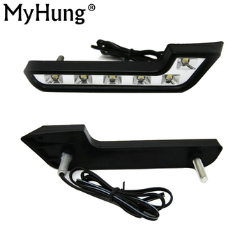 For  MERCEDES BENZ Smart Fortwo LED Day  Lighting DAY DRIVING LAMP Daytime Running Lights Fog Lamps DRL Hot Sale цена 2017