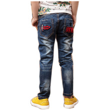 Boys Clothes 12 Years Sports Trousers Children'S Jeans Toddler Leggings Cute High Quality Men'S Pants NZK0095