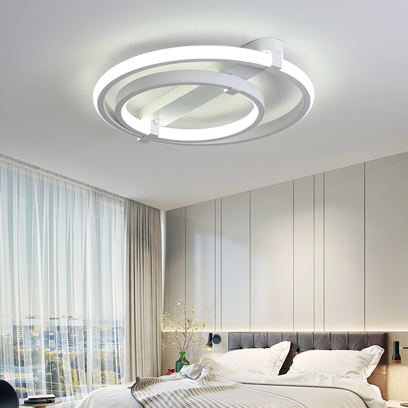 attrayant lampe couloir design 10 nouveau cercle anneaux designer moderne led plafonniers. Black Bedroom Furniture Sets. Home Design Ideas