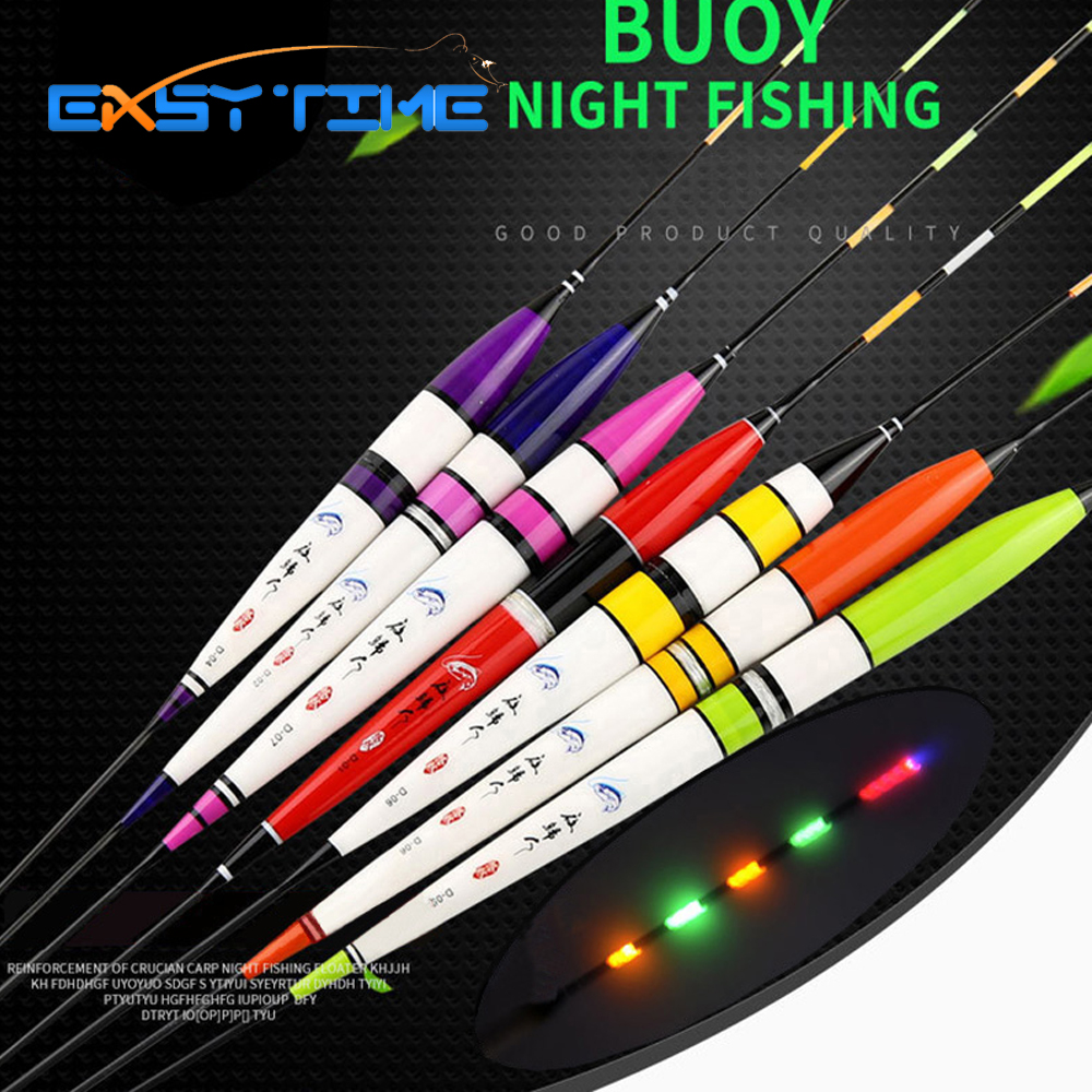 Easy Time <font><b>LED</b></font> Luminous <font><b>Fishing</b></font> <font><b>Floats</b></font> Full With Bead Night Vision <font><b>Fishing</b></font> <font><b>Float</b></font>, Pesca <font><b>Float</b></font> <font><b>Fishing</b></font> Tackle
