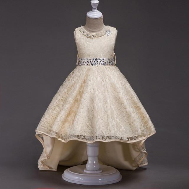 6 farben Mädchen Prom Lace Brautkleider Kinder Kleidung Mädchen ...
