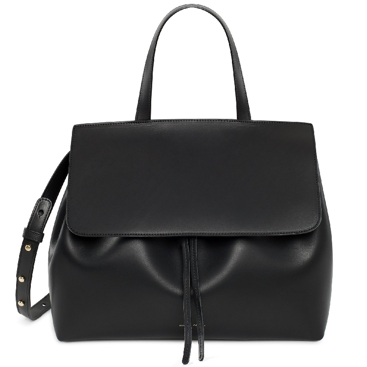 Mansur Gavriel satchels shoulder lady bag genuine leather crossbody luxury brand handbag women messenger drawstring with logo