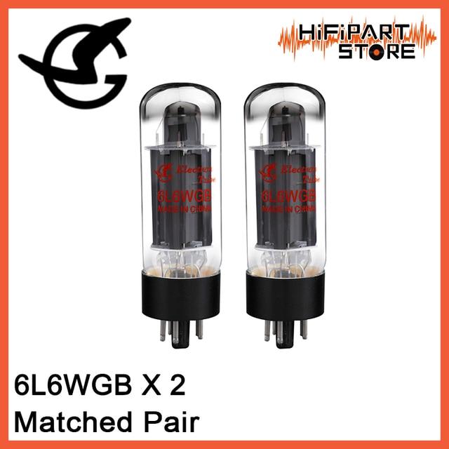 2pcs Shuguang 6L6WGB Valve Matched Pair Tube Amplifier Accessories Repalce EH JJ SVETLANA 6P3P 5881 6L6 6L6GC 6L6WGC