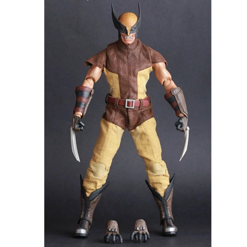 X-Men Movie Wolverine James Howlett Logan Cartoon PVC Action Figure Collectible Model Toy L2147 7 marvel legends series x men wolverine claws logan action figure anime doll toy collectible model toys for children gift 18cm
