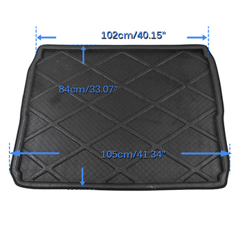 Cawanerl Car Styling Trunk Mat Rear Floor Tray Boot Liner Cargo Carpet Luggage Protector Mud Pad For Peugeot 3008