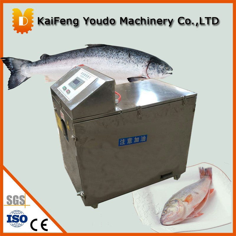 UDSY-500 fish killing and scraping/fish gutting machine kind worth killing