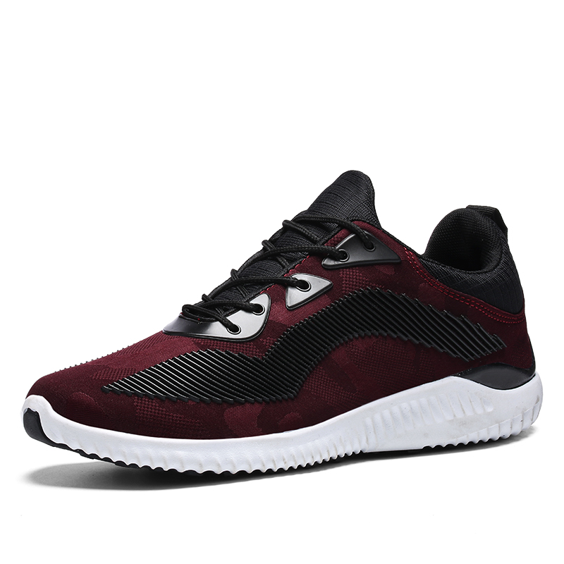 2017 nieuwe licht loopschoenen voor mannen ademende outdoor sportschoenen zomer demping mannelijke schokbestendig zool lace up sneakers