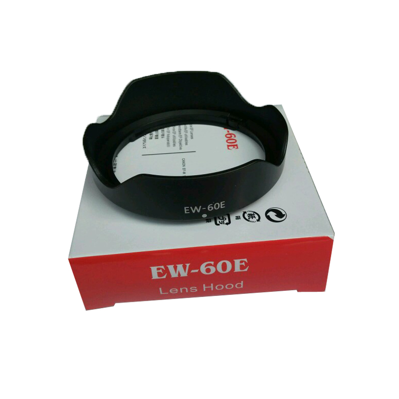 EW-60E EW60E Lens Hood For Canon EOS M M2 <font><b>M3</b></font> EF-M 11-22mm f/4-5.6 IS STM <font><b>55mm</b></font> with package box image