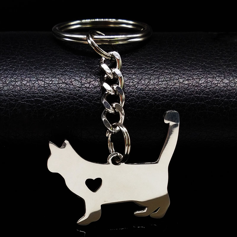 2018-fashion-cute-font-b-pokemon-b-font-cat-keychain-silver-color-stainless-steel-keychain-for-women-jewelry-gato-porte-cle-k72234