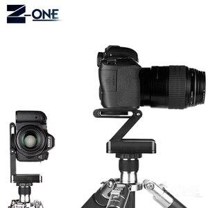 Image 4 - פתרון ראשי חצובה סוג Z צילום סטודיו המצלמה חצובה Z פאן והטיה להגמיש להטות את הראש סגסוגת אלומיניום עבור ניקון קנון מצלמה