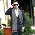 2016 мода плед шарф люксовый бренд мужчины зима кашемир шарф пашмины хлопок шарфы высокое качество шерсти шали из индии