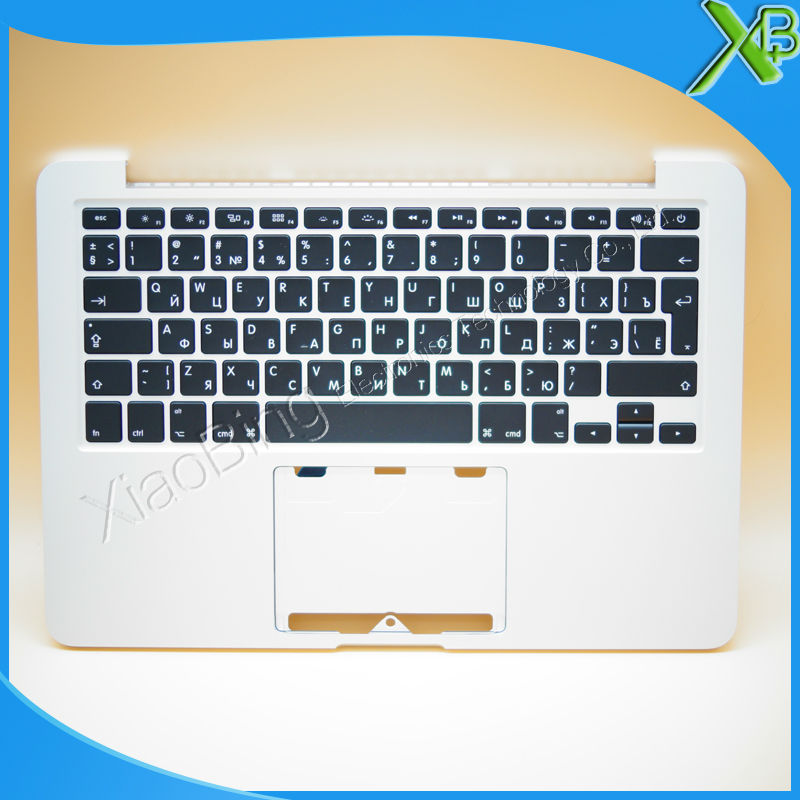New TopCase with RU Russian Keyboard for MacBook Pro Retina 13.3 A1502 2013-2014 years new original a1466 ru russian topcase keyboad for apple macbook air a1466 13 2013 2014 free shipping