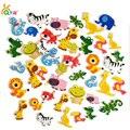 Más de 100 Unids niños EVA pegatinas de dibujos animados/Niños Niño mano BRICOLAJE etiqueta de artesanía juguetes/pegatinas Refrigerador decoración