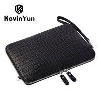 KEVIN YUN Designer Brand Men Bag Genuine Leather Handbag Men Clutch Bags Business Casual Male Shoulder