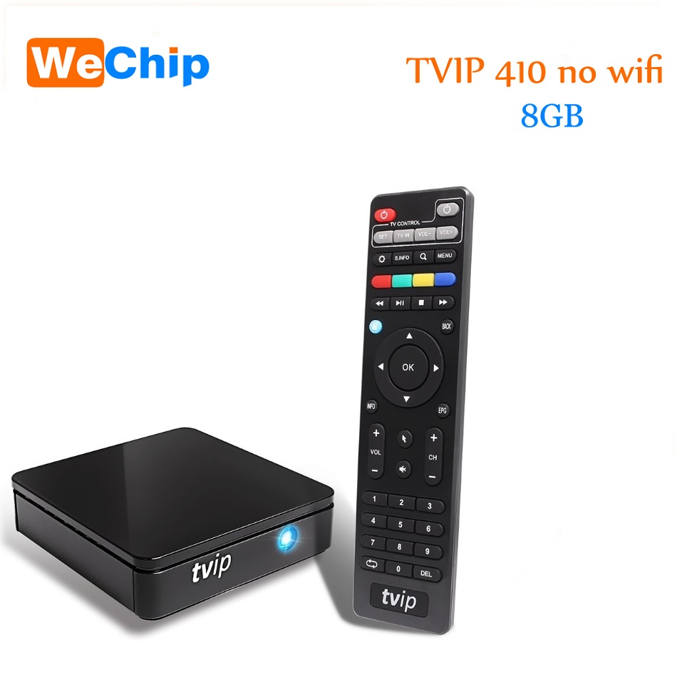 TVIP 410 412 Box Amlogic Quad Core 4GB Android 4 4/Linux Dual OS Smart TV  Box Support H 265 Airplay DLNA h96 v7 android tv box