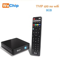 TVIP 410 412 Box Amlogic Quad Core 4 GB Android 4.4/Linux Dual OS Smart TV Box Ondersteuning H.265 Airplay DLNA h96 v7 android tv box