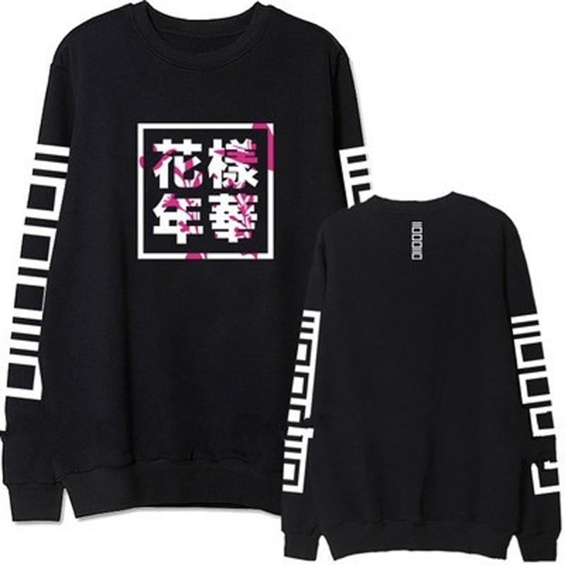 Sweatshirt font b Women b font Bangtan Boys Album Fans font b Clothing b font BTS