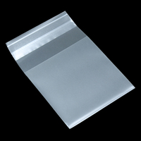 Matte Clear Self Adhesive Plastic Gift Bag For Candy Cookies Biscuits Packaging Pack Frosted Pouch 8 Size