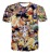 Clássico Anime camisetas Moda Dos Desenhos Animados Personagens De Dragon Ball Z Vegeta Goku camisa 3d t Rua t Dos Homens Das Mulheres camisas Casual tops
