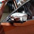 ABS Хромированные декоративные Боковые Зеркала Заднего Вида Обложка Отделка 2 шт. Для аксессуары для Hyundai Tucson 2006 2007 2008 2009 2010 2011 2012