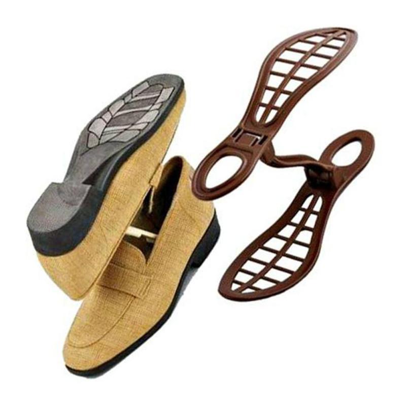1 пара обуви стойку Организатор пространство заставка вентилируемые модельная обувь организации хранения стойки подарок V3 ...