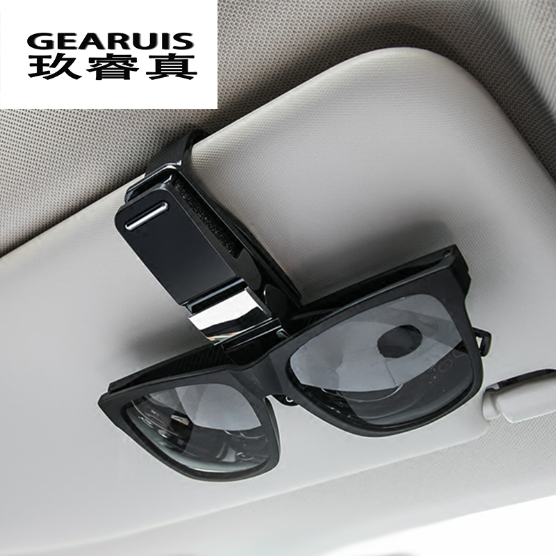 Car Styling Sunglasses Eye Glasses Clamp Pen Ticket Holder Clip For BMW F10 E90 F20 F30 E60 F07 X3 f25 X4 f26 X5 X6 Accessories