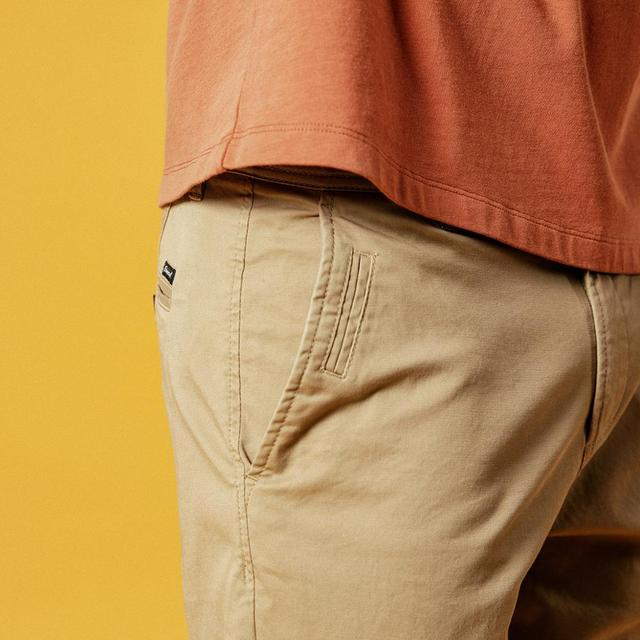 Men's Cotton Shorts Slim Fit Knee Length Casual 9 Color