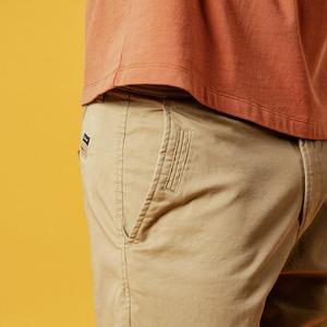 Image 3 - Simwood shorts masculinos de algodão, bermudas masculinas de alta qualidade na altura do joelho casuais, tamanho grande 9, verão 2020 cor disponível