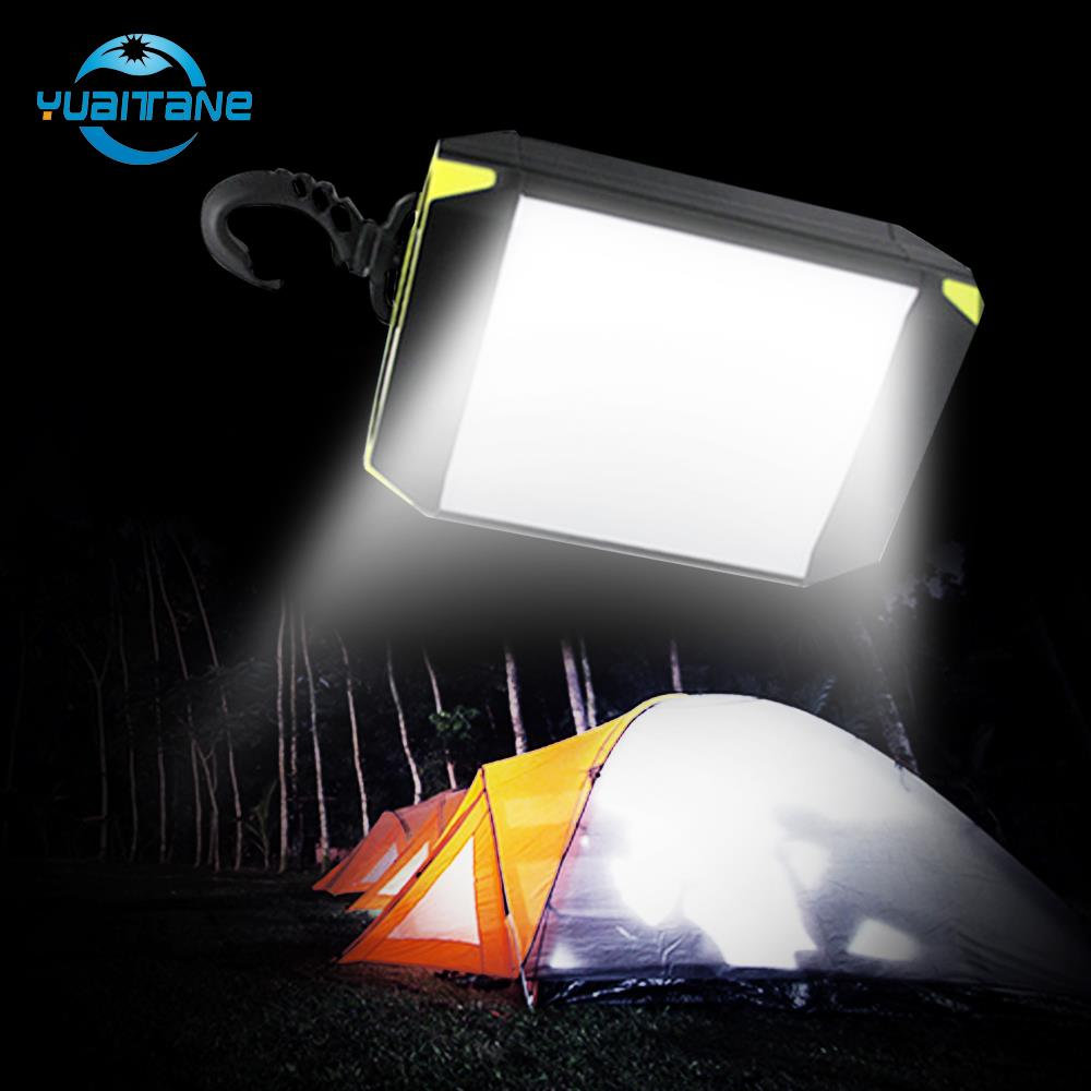 2019 Newest Mobile Power Bank Tent Light USB Port Tent Flash Light Outdoor Portable Tent Lamp 30 LEDS Lantern Camping Light