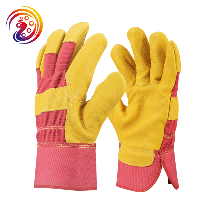 цена на OLSON DEEPAK Work Gloves Men Driver Gloves Gardening Welding Protective Gloves HY013