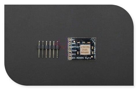 DFRobot Gyro Breakout Board/sensor, ADXRS610 chip Z-axis response 300 Angle/sec for Platform/robot/Smart car stabilization etc